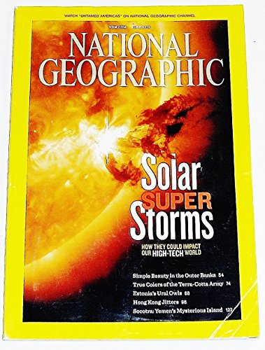 National Geographic Single Issue Magazine 'Solar Super Storms' June 2012 - Socotra Single
