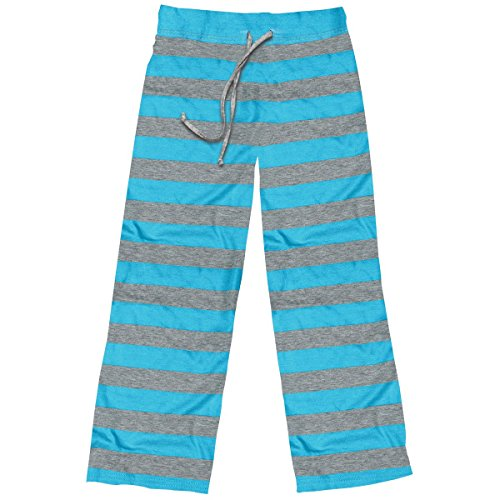 Stephen Joseph Little Girls' Lounge Pants, Turquoise, Small