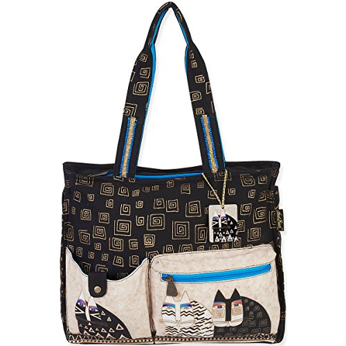 laurel-burch-wild-cats-shoulder-tote-16-by-45-by-13-inch