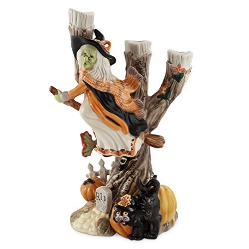 Halloween Collection, Harvest Witch Candleholder