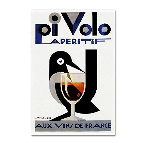 47 Aperitif - Trademark Fine Art Ad 21 by Vintage Lavoie, 30x47-Inch Canvas Wall Art