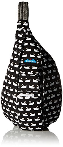 Love Rope - KAVU Rope Bag, Swan Love, One Size