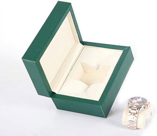 Nice Caja de joyería de Cuero Caja de Reloj Caja de Almacenamiento Solo Reloj Reloj de Pulsera Caja de Embalaje Caja de Regalo Reloj Caja de Embalaje: Amazon.es: Hogar