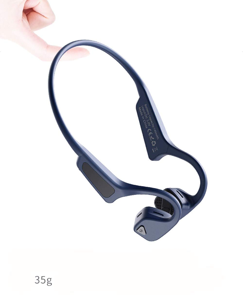 Bone Conduction Bluetooth Headset, G618 New Generation Wireless Headphones, with Bone Driving Technology, diodema Type, Sportsmanship, Sports, etc.