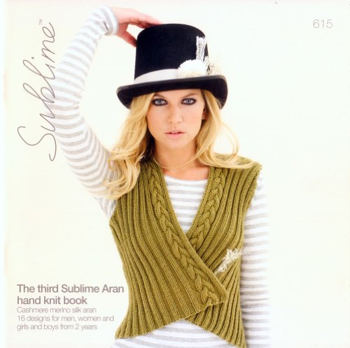 Aran Hand Knit Book - The Third Aran Hand Knit Book #615 by Sublime