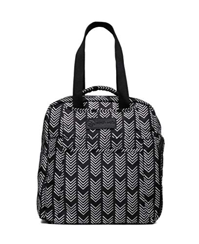 Sarah Wells Kelly Convertible Breast Pump Bag and Backpack (Black and White) by Sarah Wells (Image #1)