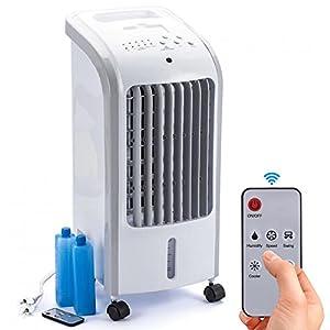 Bakaji Raffrescatore Rinfrescatore Ventilatore Umidificatore d'aria Air Cooler Raffreddamento ad Acqua con serbatoio… 51qalJSTgbL. SS300