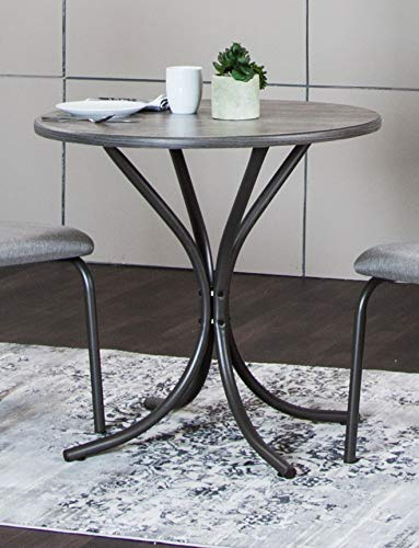 Sunset Trading Steel Gray Dining Table