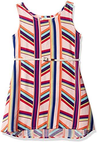 Crazy 8 Girls Big Multi Stripe Woven Dress