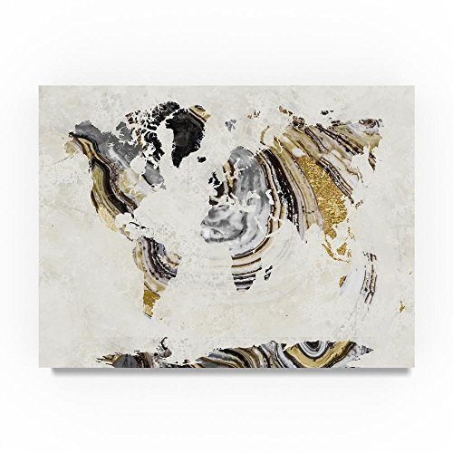 Geode World by Color Bakery, 24x32-Inch Canvas Wall Art
