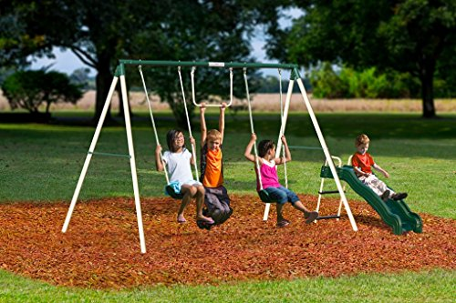 Flexible Flyer Outside Fun Ii Swing Set