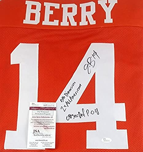 2fd02d95e Image Unavailable. Image not available for. Color  ERIC BERRY SIGNED TENNESSEE  VOLS KANSAS CITY CHIEFS JERSEY ...