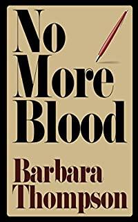 No More Blood by Barbara Thompson ebook deal
