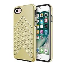 Incipio Apple iPhone 7/8 Rebecca Minkoff Star Studded Case - Studded Gold