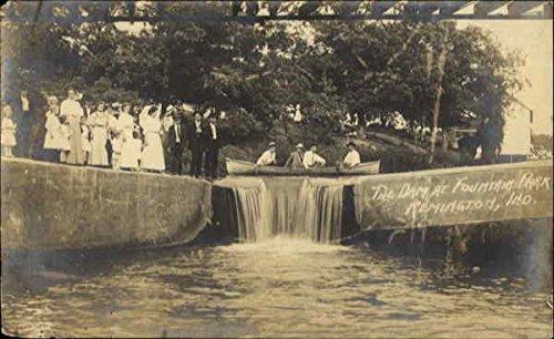 The Dam At Fountain Park Remington, Indiana Original - Remington Park
