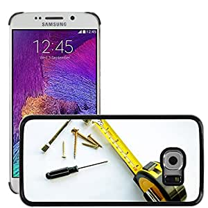 Hot Style Cell Phone PC Hard Case Cover // M00153353 Business Profession Occupation // Samsung Galaxy S6 EDGE (Not Fits S6)
