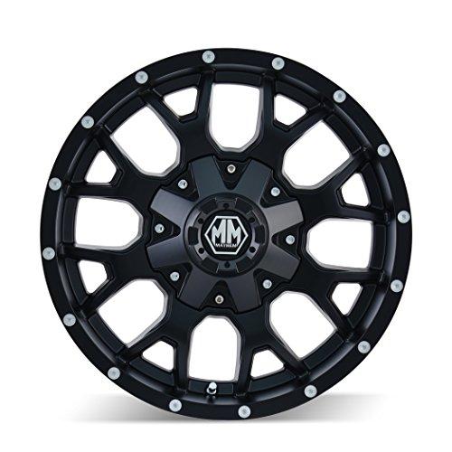 Mayhem Warrior 8015 Wheel With Matte Black Finish 20x9
