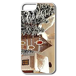Gingerbread Houses Plastic Perfect Case Cover For IPhone 5/5s