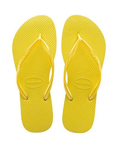 Havaianas Yellow Femme Tongs Slim Revival OOn0z7