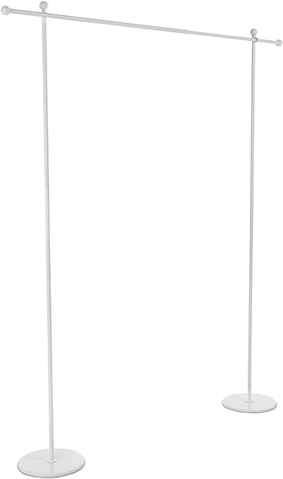 pas mal recherche d'authentique grande vente au rabais Pureday Structure de paravent Air de chez en métal Blanc