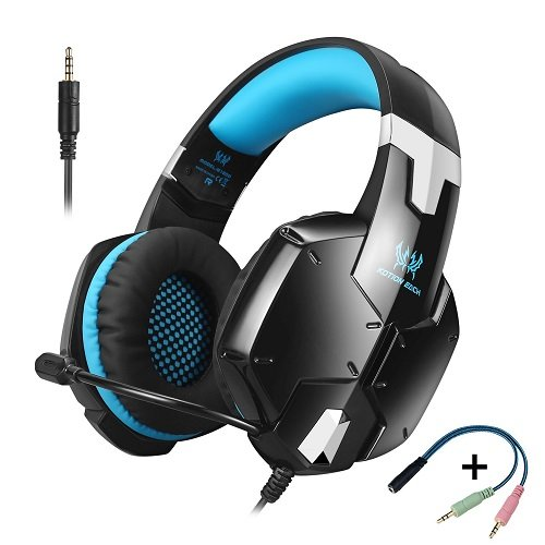 51qao2YZSJL - KOTION EACH G1200 Gaming Headset 3.5mm Game Headphone Earphone Headband with Mic Stereo Bass for PS4 New Xbox One PC Computer Laptop Mobile Phones