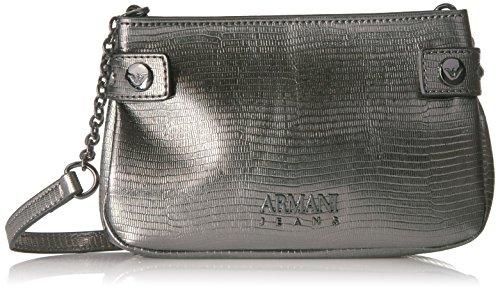 Jeans Print Metallic (Armani Jeans Metallic Python Print Sling Bag)