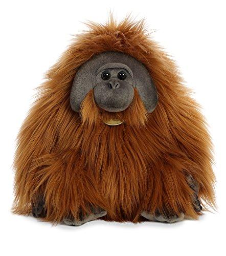 Aurora Orangutan Male Plush, Orange