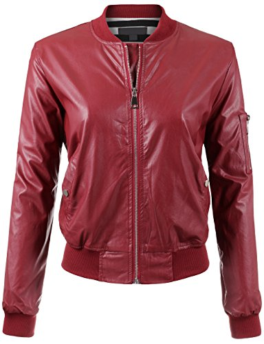 BEKTOME Womens Lightweight Leather Sleeve