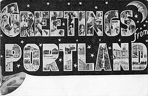 Portland, Oregon, OR, USA Large Letter - Or Portland Usa