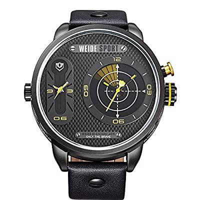 Voeons Men's Dual-time Sport Watch Wh3409