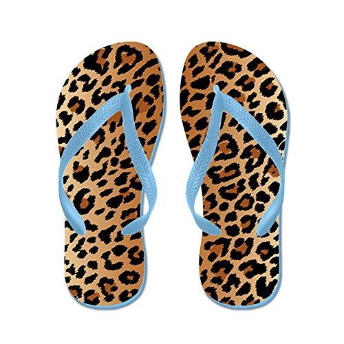 CafePress - Leopard Print - Flip Flops, Funny Thong Sandals, Beach (Leopard Print Thong Sandal)