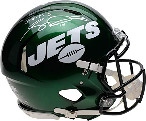 Sam Darnold New York Jets Autographed Riddell Speed Authentic Helmet with