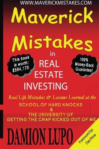 Maverick Mistakes in Real Estate Investing (Volume 1) pdf epub
