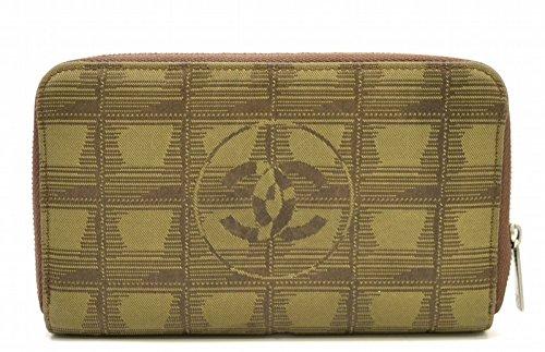 シャネル ニュートラベルライン ラウンドファスナー長財布(ファスナー式小銭入れ付き) A14346