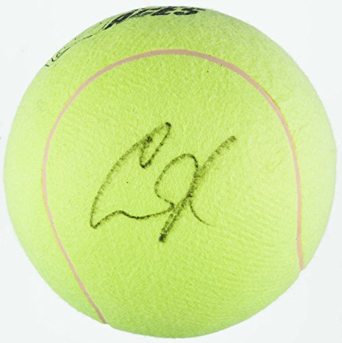 ANNA KOURNIKOVA SIGNED OVERSIZED WTT ST LOUIS ACES TENNIS BALL BASKETBALL SIZED