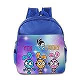 Toddler Kids Yin Yang Yo School Backpack Cool Children School Bag RoyalBlue