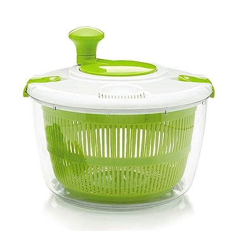 Ensaladera con cuenco giratorio para verduras de 5 litros ...