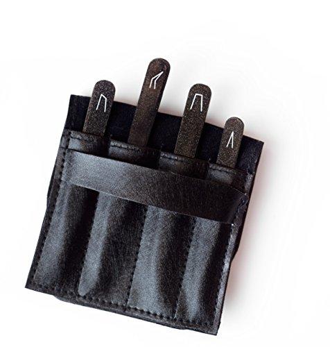 Professional-Tweezer-Pack-4-Tweezers-Set-Ingrown-Hair-Remover-Treatment-Premium-Eyebrow-Shaper-Tweezers-With-Case