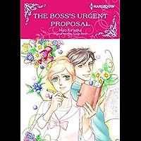 The Boss's Urgent Proposal: Harlequin comics