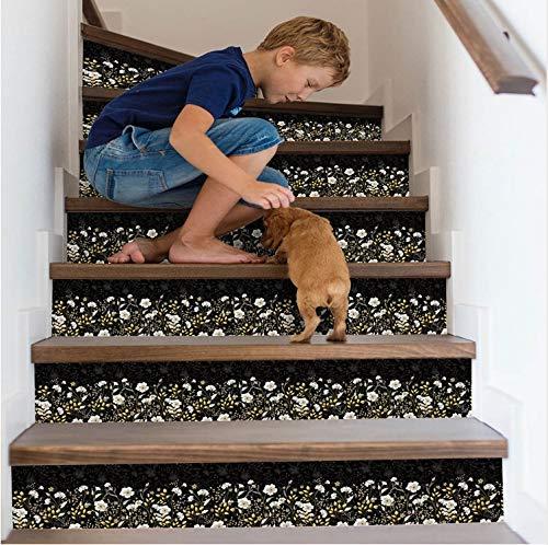 tonywu Escalera Decorativa DIY Escaleras Pegatinas ...