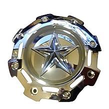 KMC XD811 Rockstar 2 Chrome Center Cap SC-198CHR SC-190 Fits All Sizes by XD Series by KMC Wheels