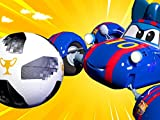 FIFA World Cup - We are football stars! / Optimus Prime/Bulbasaur / Dumbo