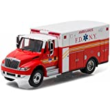 2013 International Durastar Fire Department of New York (FDNY) Ambulance (The Official Fire Department of New York) HD Trucks Series 7 1/64 by Greenlight 33070 C