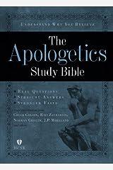 Apologetics Study Bible, Hardcover Hardcover