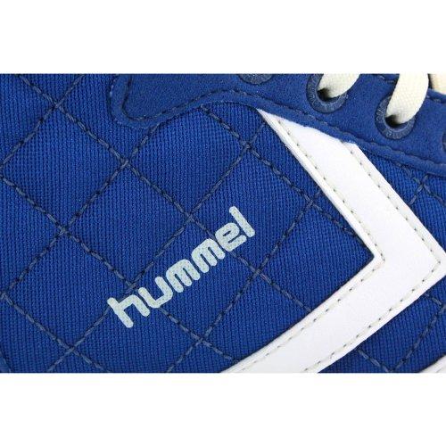 Hummel Miss Stadil Quilted High 63-283-0531 Donna Scarpe da Ginnastica Nylon Stringate Blu Bianco - 37