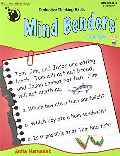 Mind Benders - Verbal: Deductive Thinking Skills, Grades K-2