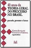 40 anos da teoria geral do processo no Brasil - 1 ed./2013: Passado, presente e futuro