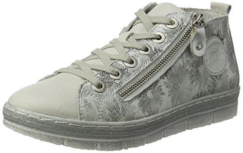 Remonte Femme Argento EU Sneakers 36 Offwhite Weiss Hautes D5870 HqFrOH