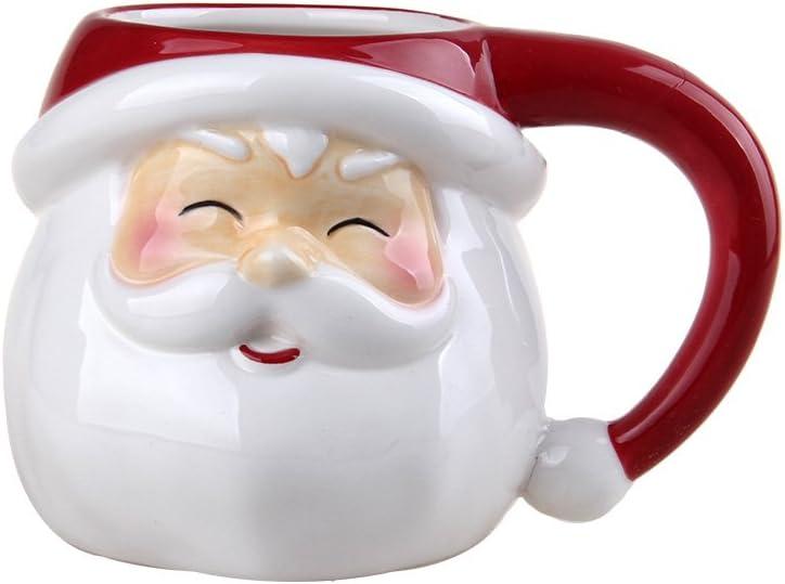 Comfy Hour 3 Winter Holiday Christmas Santa Mug  Cup for One