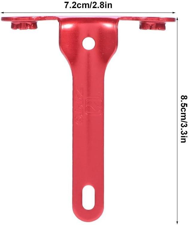 Soporte de inflado de Bicicleta de monta/ña de Carretera Accesorios de conducci/ón de Soporte de CO2 de Bicicleta Wosume Soporte de Cartucho de inflado de Bicicleta de monta/ña de Carretera